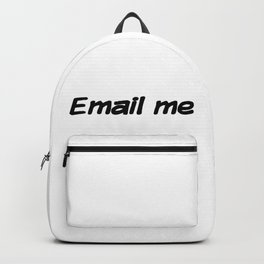 Email me Backpack