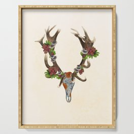 The Red Stag Serving Tray