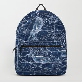 Pisces sky star map Backpack