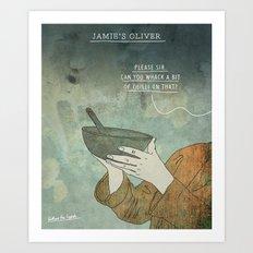 Jamie's Oliver Art Print