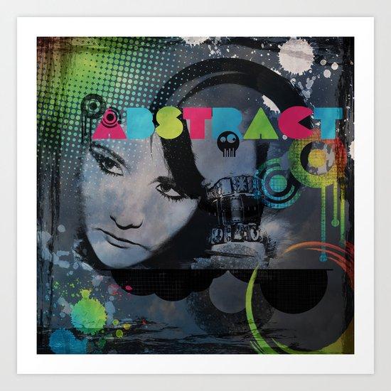 Abstract Vision Art Print