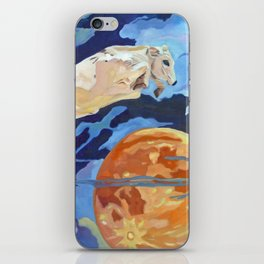 The Cow Jumped Over the Moon iPhone Skin