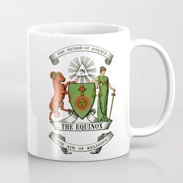 The Equinox Cover White Coffee Mug