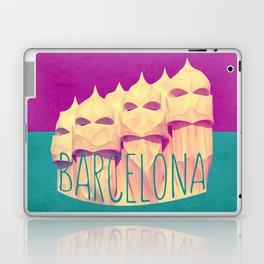 Barcelona Gaudi's Paradise Laptop & iPad Skin