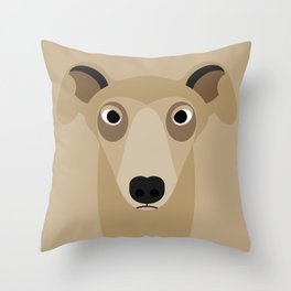 Greyhound (Galgo Ingles) Throw Pillow