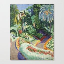 ITURRINO, Francisco (Santander, 1864-Cagnes-sur-Mer, Francia, 1924) Jardín Canvas Print