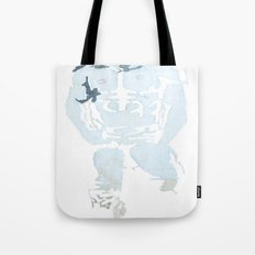 Denim Cowboy Tote Bag