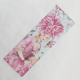 Marie Antoinette Wallflower Yoga Mat