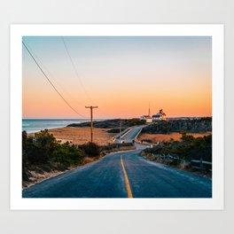 Road to Coast Guard Beach Art Print