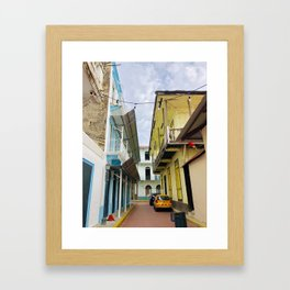 Colorful Casco Viejo- Panama Framed Art Print
