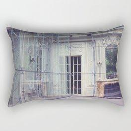 Restoration Behind Glass Rectangular Pillow