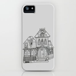 Haunted Victorian House iPhone Case