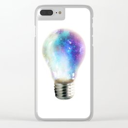 Light up your galaxy Clear iPhone Case