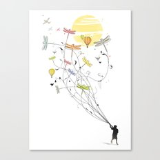 Kite Dream Canvas Print