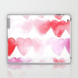 Abstract Hearts Laptop & iPad Skin
