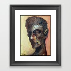20minutes Portrait#3 Framed Art Print