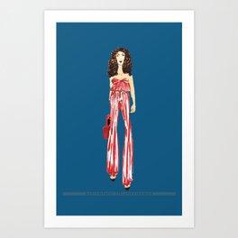 Fashion Drawing Series 2, Pinales Illustrated Art Print
