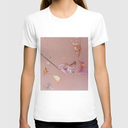 Harry Styles - pink flowers album T-shirt