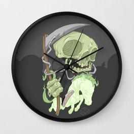 The Four Horsemen of the Apocalypse (Green) Wall Clock