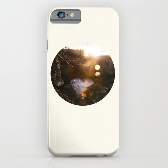 Frozen Puddle iPhone & iPod Case