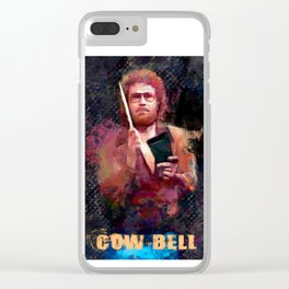 More Cowbell - Will Ferrell Clear iPhone Case