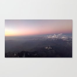 Over the Andes Canvas Print