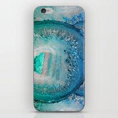 AGATE IN BLUE DREAMS iPhone & iPod Skin
