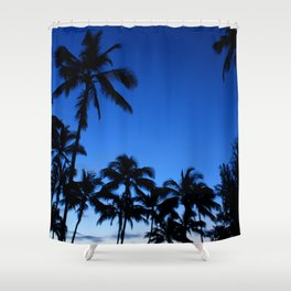 Palm Gardens Shower Curtain
