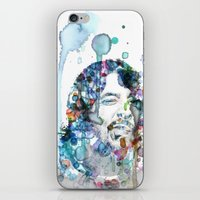 dave grohl iPhone & iPod Skins featuring Dave Grohl by NKlein Design