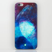 constellation iPhone & iPod Skins featuring constellation by Oana Popan