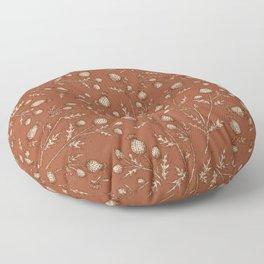 Thistle in Autumn Floor Pillow
