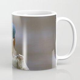 Kingfisher in the rain Coffee Mug