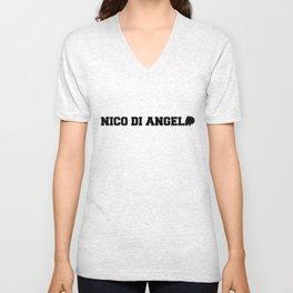 Nico Di Angelo Skull  Unisex V-Neck