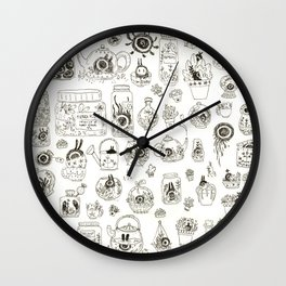 Terrariums Wall Clock
