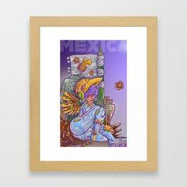 Mexica Framed Art Print