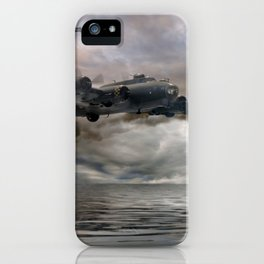 B-17 Flying Fortress - Almost Home iPhone Case