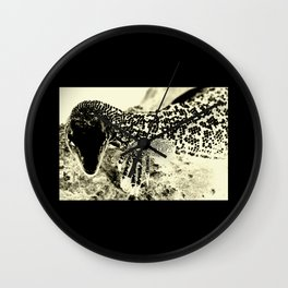 Reptilian Wall Clock