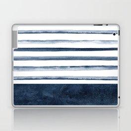 Watercolor Stripes Pattern Laptop & iPad Skin
