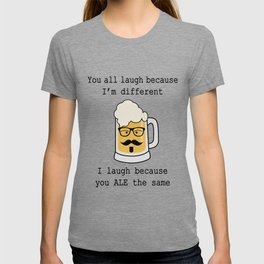 hipster beer T-shirt