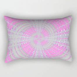 Circle Watercolor art Rectangular Pillow