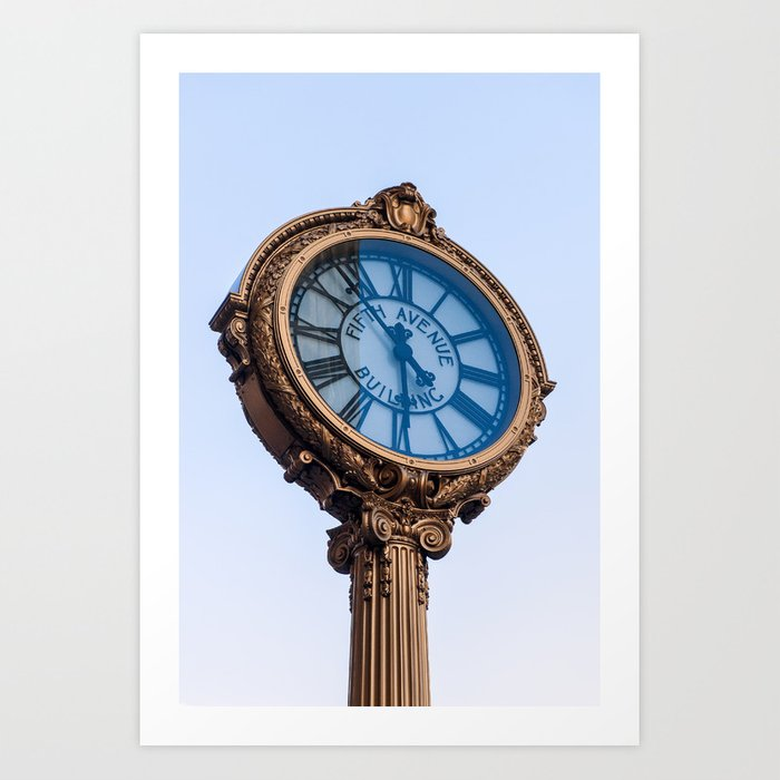 Fifth Avenue  Art Print