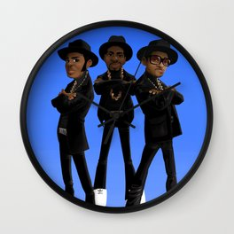 Tougher Than Leather Wall Clock