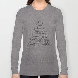 Fruits of the Spirit Long Sleeve T-shirt