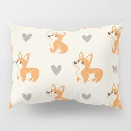 Corgi Pups Pillow Sham