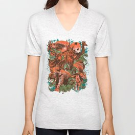Kingdom Animalia Unisex V-Neck