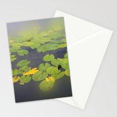 garden pond IV Stationery Cards