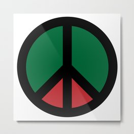 Peace For Africa Metal Print
