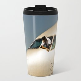 HEY! Can You Check the Oil Too? Travel Mug