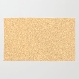 Cracked Glass - Brown Rug