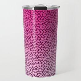 Reptile Texture Pattern Travel Mug